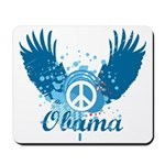 Obama Peace Symbol Mousepad