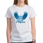 Obama Peace Symbol Women's T-Shirt