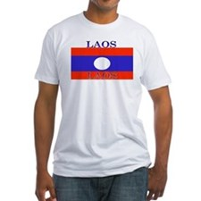 Laos Lao Flag Shirt