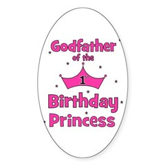 Godfather of the 1st Birthday Decal