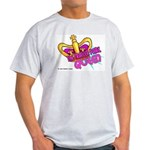 The Trailer Park Queen Ash Grey T-Shirt