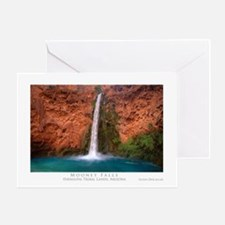 Mooney Falls and Pool Greeting Card