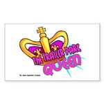 The Trailer Park Queen Rectangle Sticker
