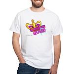 The Trailer Park Queen White T-Shirt