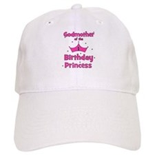 Godmother of the 1st Birthday Baseball Cap
