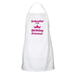 Godmother of the 1st Birthday BBQ Apron