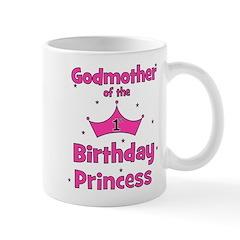 Godmother of the 1st Birthday Mug