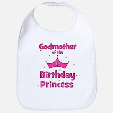 Godmother of the 1st Birthday Bib