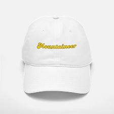 Retro Mountaineer (Gold) Baseball Baseball Cap
