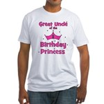 Great Uncle of the 1st Birthd Fitted T-Shirt