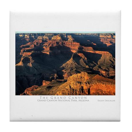 The Grand Canyon Tile Coaster