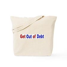 Cute National debt Tote Bag