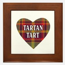 TARTAN TART Framed Tile