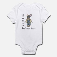 Country Sunflower Bunny Infant Bodysuit