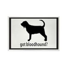 Got Bloodhound? Rectangle Magnet