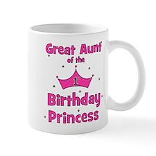 Great Aunt of the 1st Birthda Mug
