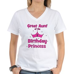Great Aunt of the 1st Birthda Shirt