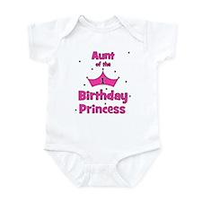 Aunt of the 1st Birthday Prin Infant Bodysuit
