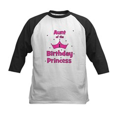 Aunt of the 1st Birthday Prin Tee