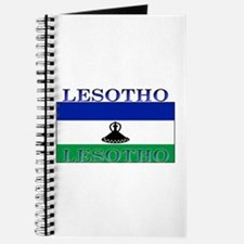 Lesotho Flag Journal