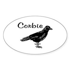 CORBIE Oval Decal