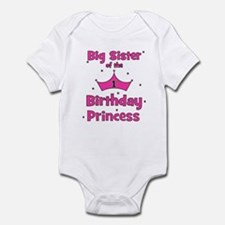 Big Sister of the 1st Birthda Infant Bodysuit