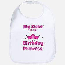 Big Sister of the 1st Birthda Bib