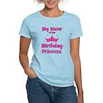 Big Sister of the 1st Birthda Women's Light T-Shir