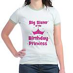 Big Sister of the 1st Birthda Jr. Ringer T-Shirt