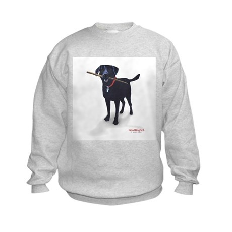 STICK CHASER Kids Sweatshirt