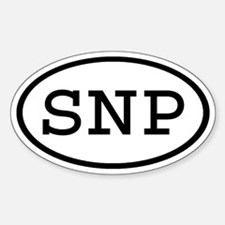 SNP Oval Oval Decal
