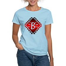 Aztec Plate B Women's Pink T-Shirt