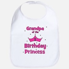 Grandpa of the 1st Birthday P Bib