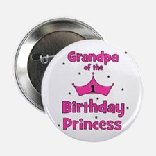 "Grandpa of the 1st Birthday P 2.25"" Button"