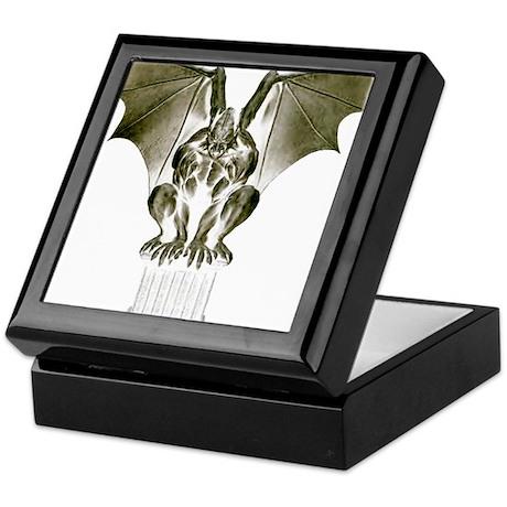 Stone Gargoyle Keepsake Box