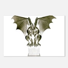 Stone Gargoyle Postcards (Package of 8)