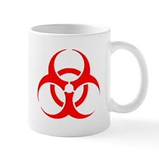 Red Biohazard Mug
