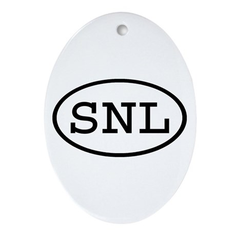 SNL Oval Oval Ornament