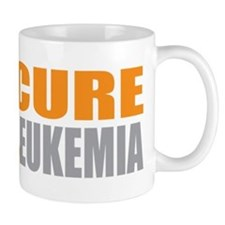 Cure Leukemia (Orange) Mug