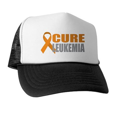 Cure Leukemia (Orange) Trucker Hat