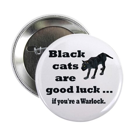 "WoW Warlock Cat 2.25"" Button (100 pack)"