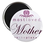 Most Loved Mother Magnet