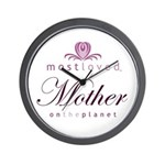 Most Loved Mother Wall Clock