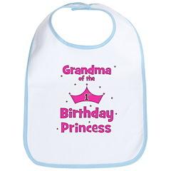 Grandma of the 1st Birthday P Bib