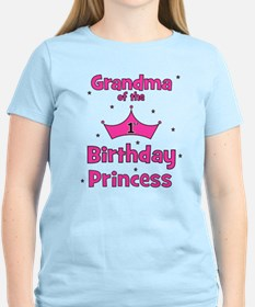Grandma of the 1st Birthday P T-Shirt