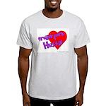 Trailer Park Hussie Ash Grey T-Shirt