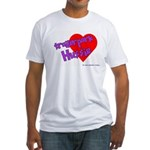 Trailer Park Hussie Fitted T-Shirt