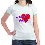 Trailer Park Hussie Jr. Ringer T-Shirt