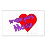 Trailer Park Hussie Rectangle Sticker