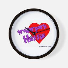 Trailer Park Hussie Wall Clock